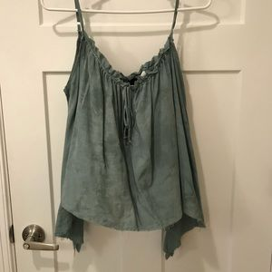 Blue life camisole
